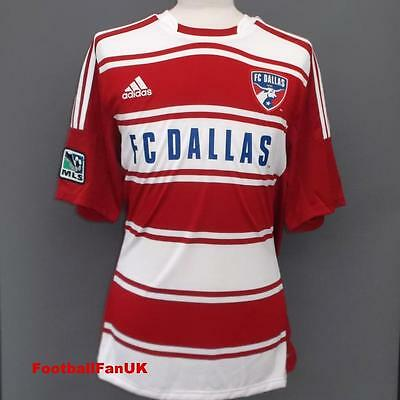 FC DALLAS Adidas Camiseta Local 2012/13 L,XL,Camiseta De Fútbol XXL MLS 12/13