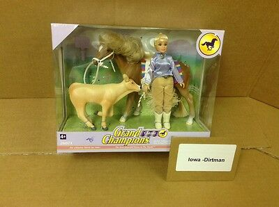 Rare Grand Champions Classic Horse Play Set 26073 New Vintage