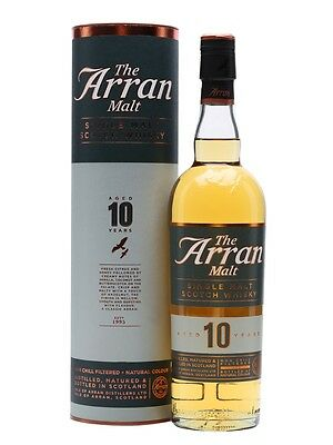 The Arran 10 Year Old Single Malt Scotch Whisky 700ml