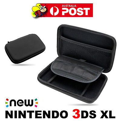 Black Airform Game Hard Case Pouch Bag For New Nintendo 3DS XL Console 2014 OZ