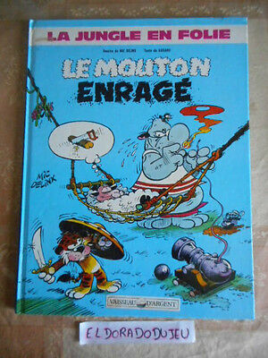 Eldoradodujeu > Bd - La Jungle En Folie Le Mouton Enrage - Dargaud 1987 Be