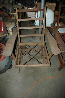 Antique Platform Rocker Rocking Chair