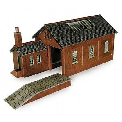 PN112 N Scale Goods Shed Metcalfe Model Kit Building