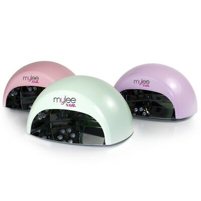 Mylee LED Nail Lamp Limited Edition Pastel 12W With Timer Sensor Tray GEL Polish