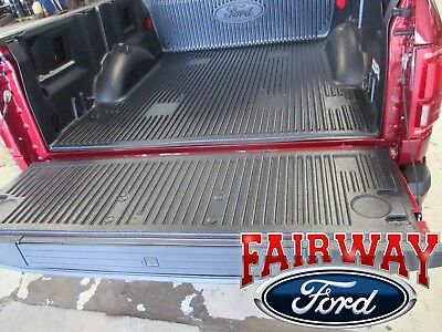 15 thru 18 F-150 OEM Genuine Ford Parts Black Tailgate Protector with Hardware