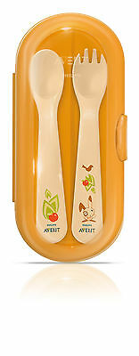 Avent Toddler Feeding Cutlery Travel Set