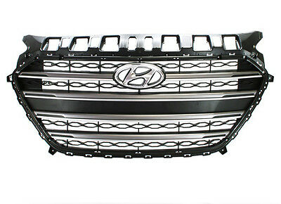 Genuine Front Radiator Sports Grill Grille For 2012~2016 Hyundai Elantra GT I30