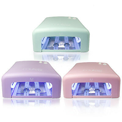 Mylee UV Nail Lamp Limited Edition Pastel 36W Timer Removeable Tray GEL Polish