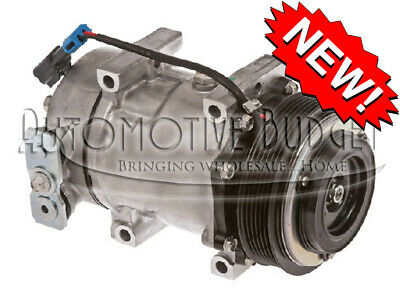 A/C Compressor w/Clutch for Sanden 4080, 4377 - NEW