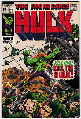 Incredible Hulk #120 VF+ 8.5 The Evil Inhumans Herb Trimpe Art!
