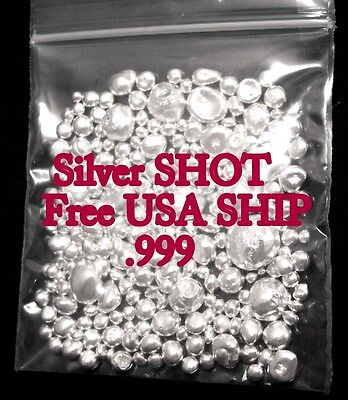 BUY ONE GET ONE FREE-  2 FOR 1 SALE! -Silver SHOT- READ DESCRIPTION