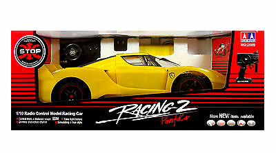 Ferrari 1:10 Large Scale RC Remote Radio Control Rechargeable Racing Car Toy NEW