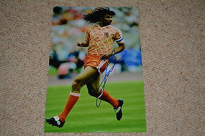 RUUD GULLIT signed autograph In Person 8x12 (20x30 cm) HOLLAND