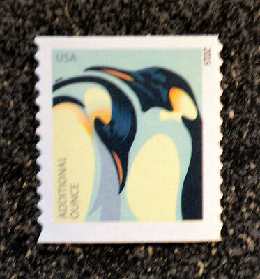 2015USA #4990 Additional Ounce Rate - Penguins  Mint NH  Single From Coil