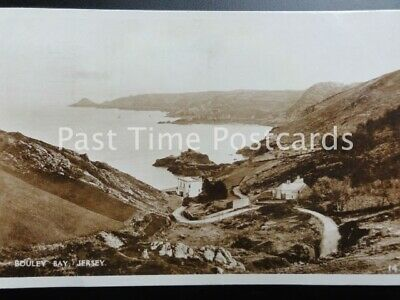 Channel Islands JERSEY Bouley Bay c1932 RP