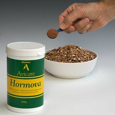 Harkers Hormova 400g vitamin/mineral supplement for all caged birds