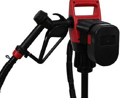 Battery Operated Drum Pump Diesel Oil Detergent Soap 19.2 V Rechargeable # 7019