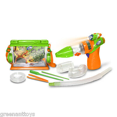 Kids Bug Catcher Toys Complete Insect Adventure Kit  Incl. Bug Vacuum+ FREE POST