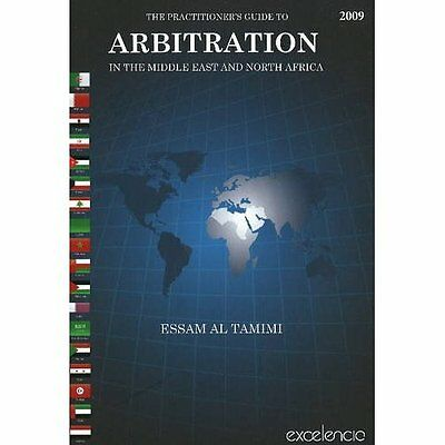 Practitioner's Guide to Arbitration Middle East North Africa Tami. 9789948150183