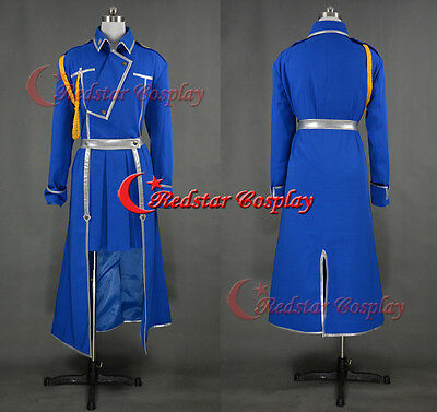 Roy Mustang Military Cosplay Costume Female Style from Fullmetal Alchemist Cos
