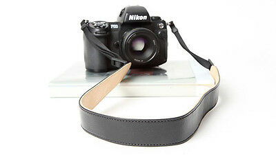Black & Cream Cam-in Leather DSLR Camera Strap CAM2290 UK stock