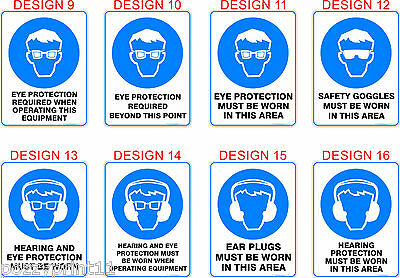 Mandatory Australian Health & Safety Signs OHS Standard Signs Work Place Signs