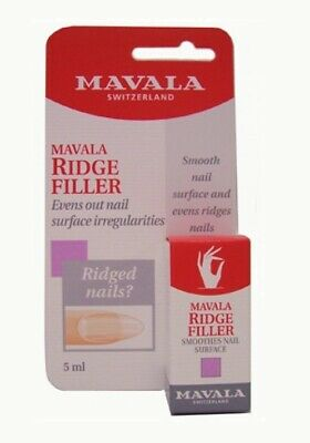 Mavala Ridge Filler 5ml Nail Pedicure Manicure Home Salon Professional Hands NEW