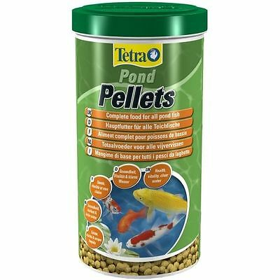 Tetra Pond Pellets Fish Food 1 Litre / 260g