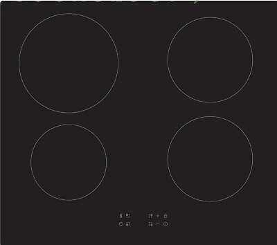 60cm Induction Hob Cookology CIT601, Black, Built-in, Electric, Touch Controls