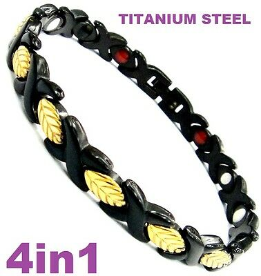 Titanium Bio Magnetic Energy  Armband Power Bracelet Health lady's