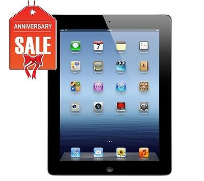 Apple iPad 4th Gen 16GB, Wi-Fi + 4G AT&T (Unlocked), 9.7in - Black (R-D)