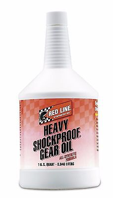 Red Line 58204 Synthetic Heavy Shockproof Gear Oil- 1 Quart