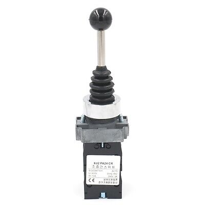 Momentary Type Monolever Joystick Switch PA24 SPST NO 4 Position