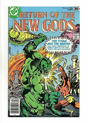 New Gods Vol 1 No 16 Feb 1978 (VFN) DC Comics, Bronze Age (1970 - 1979)