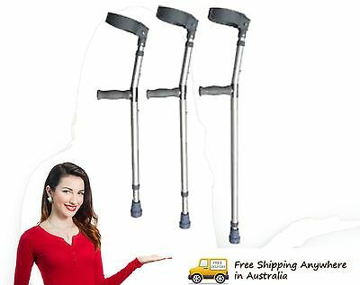 Invacare Elbow Crutches - Runout stock best buy!! Pair RRP $69