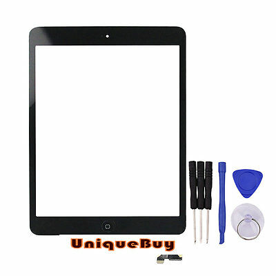For IPAD MINI Touch Screen Digitizer Replacement Glass With IC And Home Button
