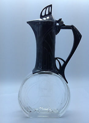 WMF ANTIQUE Claret Jug- Decanter. Secessionist, Art Nouveau design. Germany