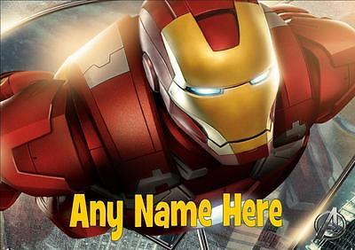 The Avengers Ironman Personalised Placemat