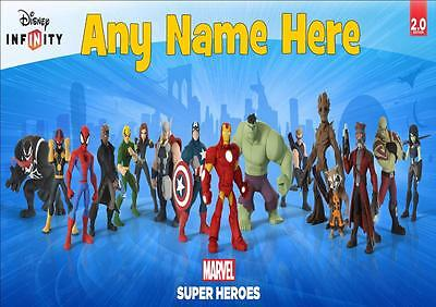 Disney Infinity Marvel Personalised Placemat