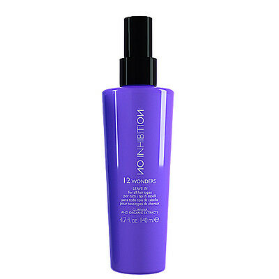 NO INHIBITION 12 WONDERS Maschera Spray Intensiva capelli morbidi setosi 140ml