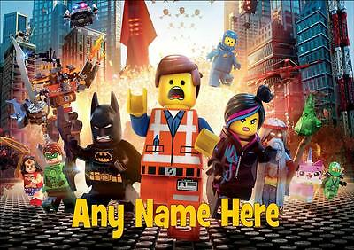 Lego Movie Personalised Placemat
