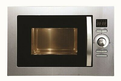 Cookology BMOG25LIXH Built-in Combi Microwave Oven & Grill | Stainless Steel 25L