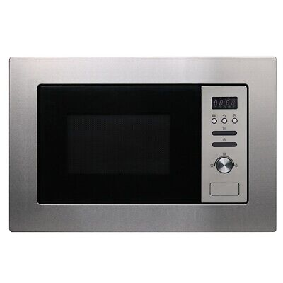 Cookology BM20LIX 60cm 800W 20L Built-in Integrated Microwave in Stainless Steel