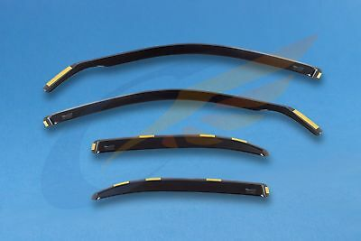 ROVER 75 MG ZT Saloon 1999-2005 smoked wind deflectors HEKO Tinted 4pc set