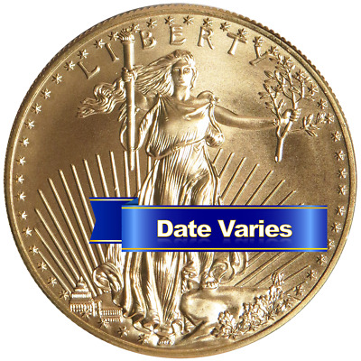 $50 American Gold Eagle 1 oz Random Year Brilliant Uncirculated