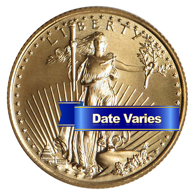 $10 American Gold Eagle 1/4 oz Brilliant Uncirculated Random Year