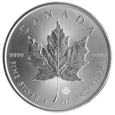 2014 $5 Silver Canadian Maple Leaf 1 oz Brilliant Uncirculated