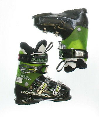 Used Rossignol Evo Sensor RTL Black & Green Ski Boots Men's