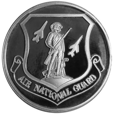1 Troy oz United States Air National Guard .999 Fine Silver Round