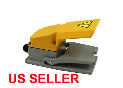 Heavy Duty Industrial Foot Switch Pedal All Aluminum Cast With Gaurd =NEW= L2